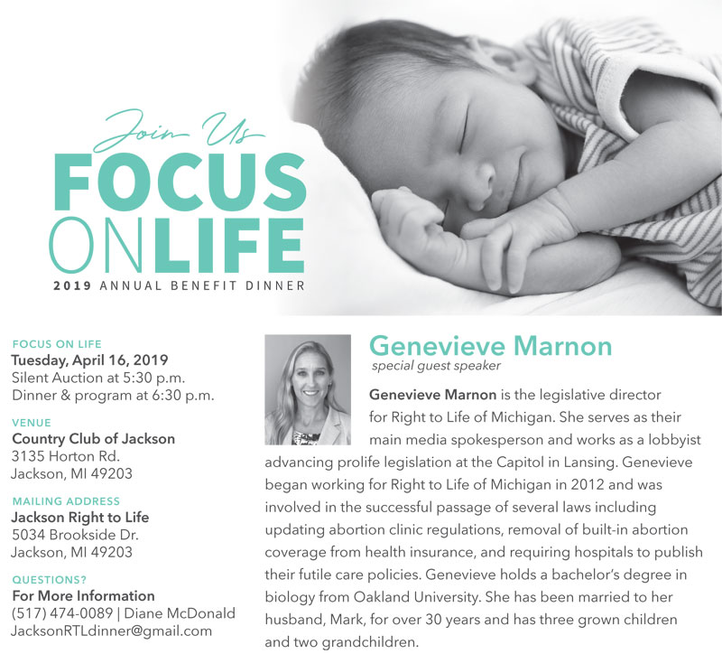 FOCUS on LIFE Annual Benefit Dinner